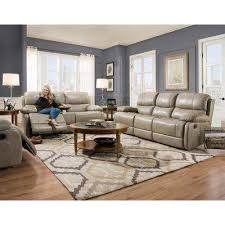 Beige Leather Living Room Set Sofas Loveseats Living Room Furniture The Home Depot