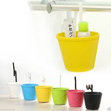 Hanging Baskets For Bathroom Storage Bathroom Kitchen Storage Hanging Basket Bowl Bin Toiletries