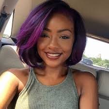black hairstyles purple purple hairstyles for black girls this season 6 hair styles