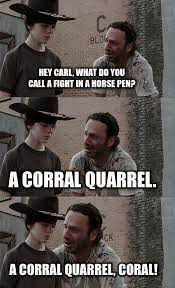 Coral Meme - 26 newest rick grimes coral jokes funny gallery ebaum s world