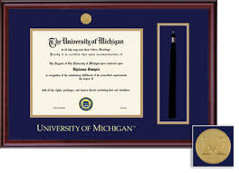 of michigan diploma frame of michigan flint bookstore framing success classic