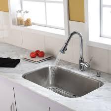 stainless steel kitchen sink combination kraususa com discontinued 31 1 2 inch undermount single bowl stainless steel kitchen sink with chrome