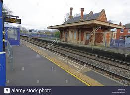 Track Canopy by Culham Preserved Railway Station Building Made Of Red Brick And