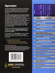 arrl operating manual arrl inc 9780872595965 amazon com books