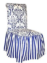 ruffled chair covers classic slipcovers csi damask ruffled dining chair