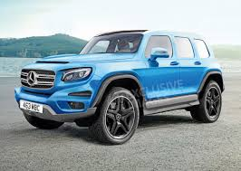 mercedes jeep 2018 new mercedes glb to become a u0027baby g wagen u0027 auto express