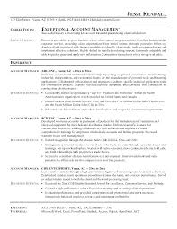 account manager resumes customer account manager resume