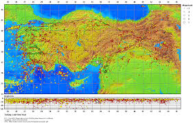 middle east earthquake zone map earthquakes in turkey all about turkey