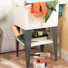 Under Sink Shelves by 20 Small Space Laundry Room Organization Tips Family Handyman