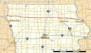 Map Of Iowa State Iowa Highway 3 Wikipedia