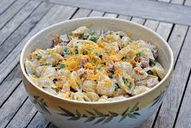pasta salad with mayo light pasta salad with peas ham and cheddar u2013 diana dishes