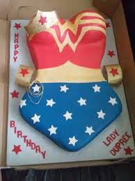Flag Sheet Cake Wonder Woman Themed Birthday Cake Cakecentral Com