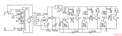 component mains voltage regulator ac five power supply circuits