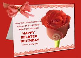 happy belated birthday greetings