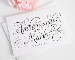 custom thank you cards custom thank you cards online collections wondrous personalized