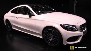 mercedes c class c300 2016 mercedes c class c300 coupe exterior and interior