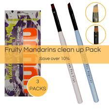 nail art clean up pack u2013 mitty nail art tools u0026 brushes