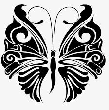 black antennae butterfly design sense butterfly antenna