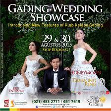 wedding dress kelapa gading gading wedding showcase by klub kelapa gading bridestory