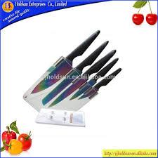 Colored Kitchen Knives Rainbow Kitchen Knife Set Rainbow Kitchen Knife Set Suppliers And