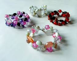 diy bracelet with beads images Diy wire and bead bracelet 4 steps with pictures jpg
