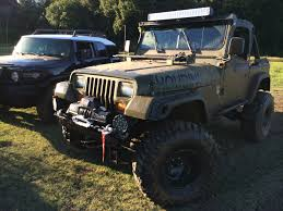 modified jeep wrangler yj yj light bar jeep wrangler forum
