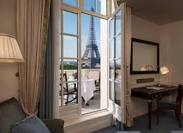 Eiffel Tower Bedroom Curtains Top Paris Luxury Hotels With Eiffel Tower Views Travelsort