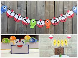 fishing themed baby shower fishing themed baby shower decorations and party favors baby