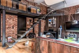 industrial interior industrial interior design loft in moscow