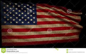 Old Flag Usa Old American Flag Is Developing Slowly In The Wind Stock Footage