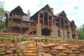 log and timber mansions luxury mountain home plans a vision