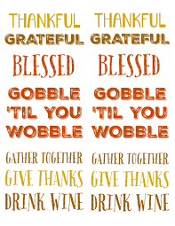 thanksgiving sayings labels label templates ol150 onlinelabels