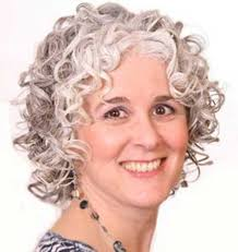 simple short thick curly hairstyles for older women over 40 cute