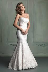 strapless mermaid lace wedding dress with sash wedding