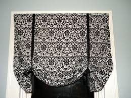 craft couture tutorial tie up curtain