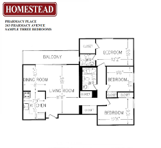 Massey Hall Floor Plan by Pharmacy Place Homestead