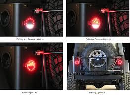 Jeep Led Lights Off Road Only Led Litedot Taillights For 76 06 Jeep Cj Wrangler