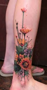 45 inspirational sunflower tattoos and design