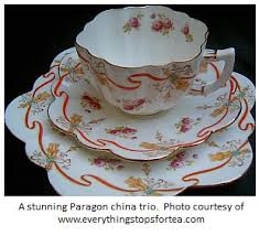 paragon bone china the shooting of antique china