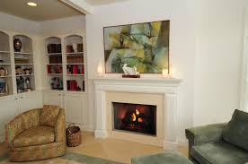 furniture traditional fireplace design next to l shaped corner
