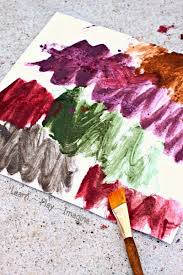 Make Textured Paint - mud paint recipe learn play imagine