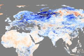 World Map Winter by Nasa Vs Nasa Which Temperature Anomaly Map To Believe Watts