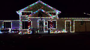 2 story christmas lights star shower motion laser light projector 10639 6 at the home depot