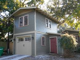 two story garage apartment craftsman exterior tampa by