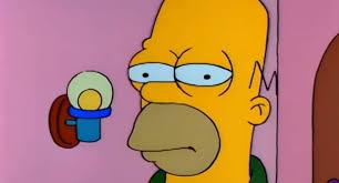 Simpson Memes - joven le terminó a su novio con memes de los simpson a través de