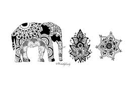 indian summer temporary tattoo set boho tats festival