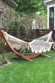 zen decorating outdoor backyard landscaping ideas diy backyard hammock