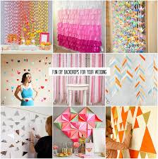 wedding backdrop ideas diy diy wedding backdrop projects including a tutorial for my tissue