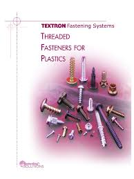 threaded fasteners for plastics strength of materials