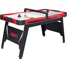Best Air Hockey Table by Espn 60 Inch Air Powered Hockey Table With Overhead Electronic